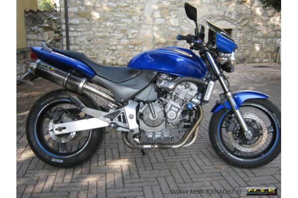 Muffler Exhaust Approved Msr Motorcycle Honda Hornet Cb 600 F Pc 34
